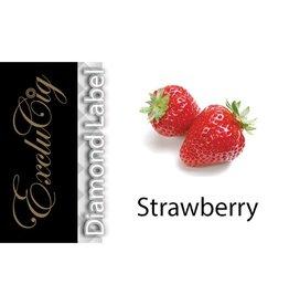 Exclucig Exclucig Diamond Label E-liquid Strawberry 3 mg Nicotine