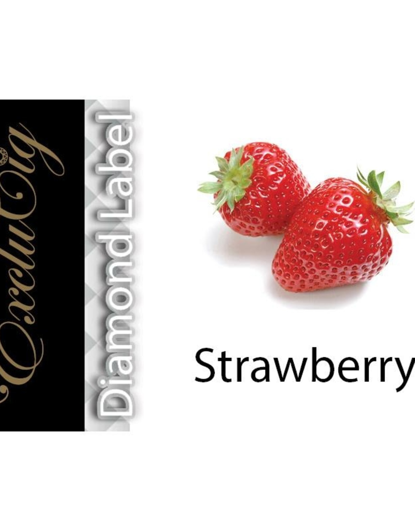 Exclucig Exclucig Diamond Label E-liquid Strawberry 6 mg Nicotine