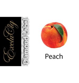 Exclucig Exclucig Diamond Label E-liquid Peach 0 mg Nicotine
