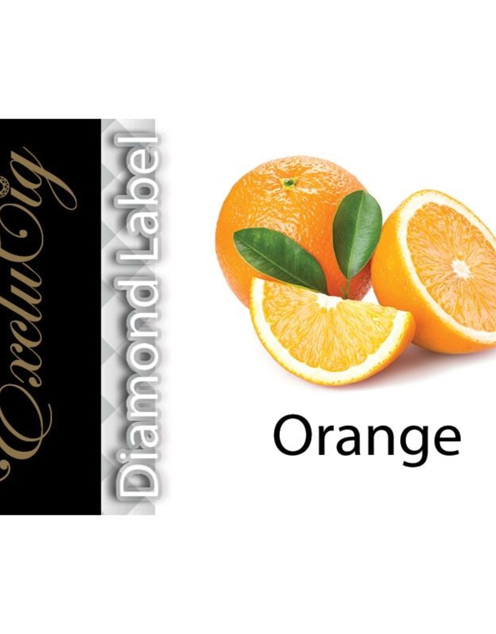 Exclucig Exclucig Diamond Label E-liquid Orange 0 mg Nicotine
