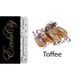 Exclucig Exclucig Diamond Label E-liquid Toffee0 mg Nicotine