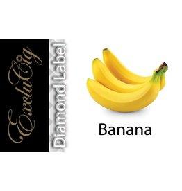 Exclucig Exclucig Diamond Label E-liquid Banana 0 mg Nicotine