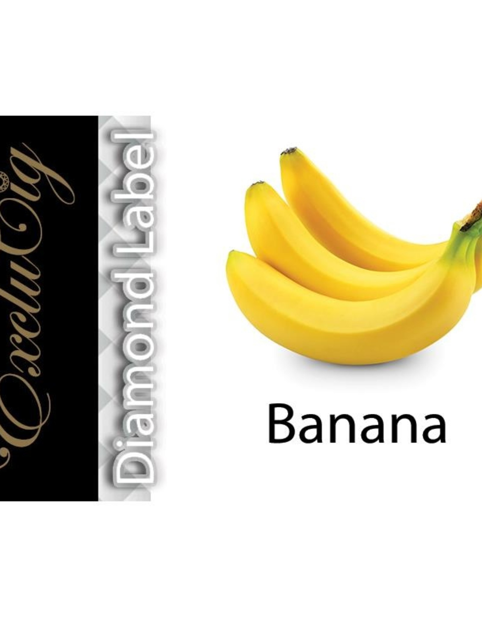 Exclucig Exclucig Diamond Label E-liquid Banana 3 mg Nicotine