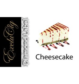 Exclucig Exclucig Diamond Label E-liquid Cheesecake 0 mg Nicotine