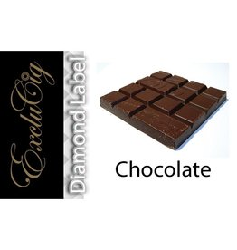 Exclucig Exclucig Diamond Label E-liquid Chocolate 0 mg Nicotine