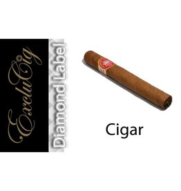 Exclucig Exclucig Diamond Label E-liquid Cigar 3 mg Nicotine