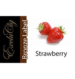 Exclucig Exclucig Bronze Label E-liquid Strawberry 0 mg Nicotine
