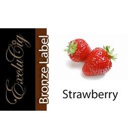 Exclucig Exclucig Bronze Label E-liquid Strawberry 12 mg Nicotine