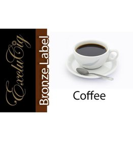 Exclucig Exclucig Bronze Label E-liquid Coffee 0 mg Nicotine