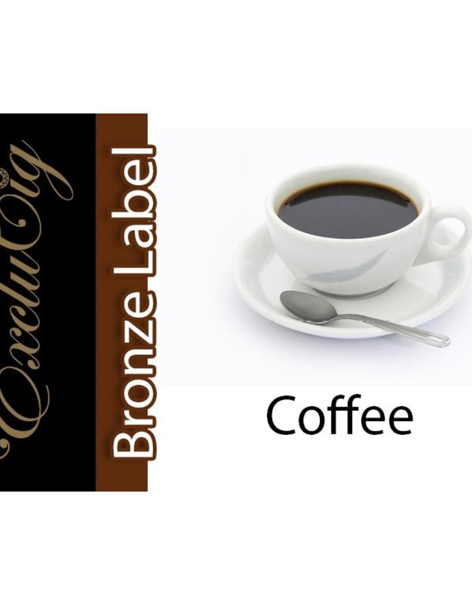 Exclucig Exclucig Bronze Label E-liquid Coffee 12 mg Nicotine