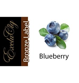 Exclucig Exclucig Bronze Label E-liquid Blueberry 18 mg Nicotine