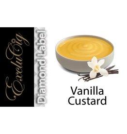 Exclucig Exclucig Diamond Label E-liquid Vanilla Custard 0 mg Nicotine
