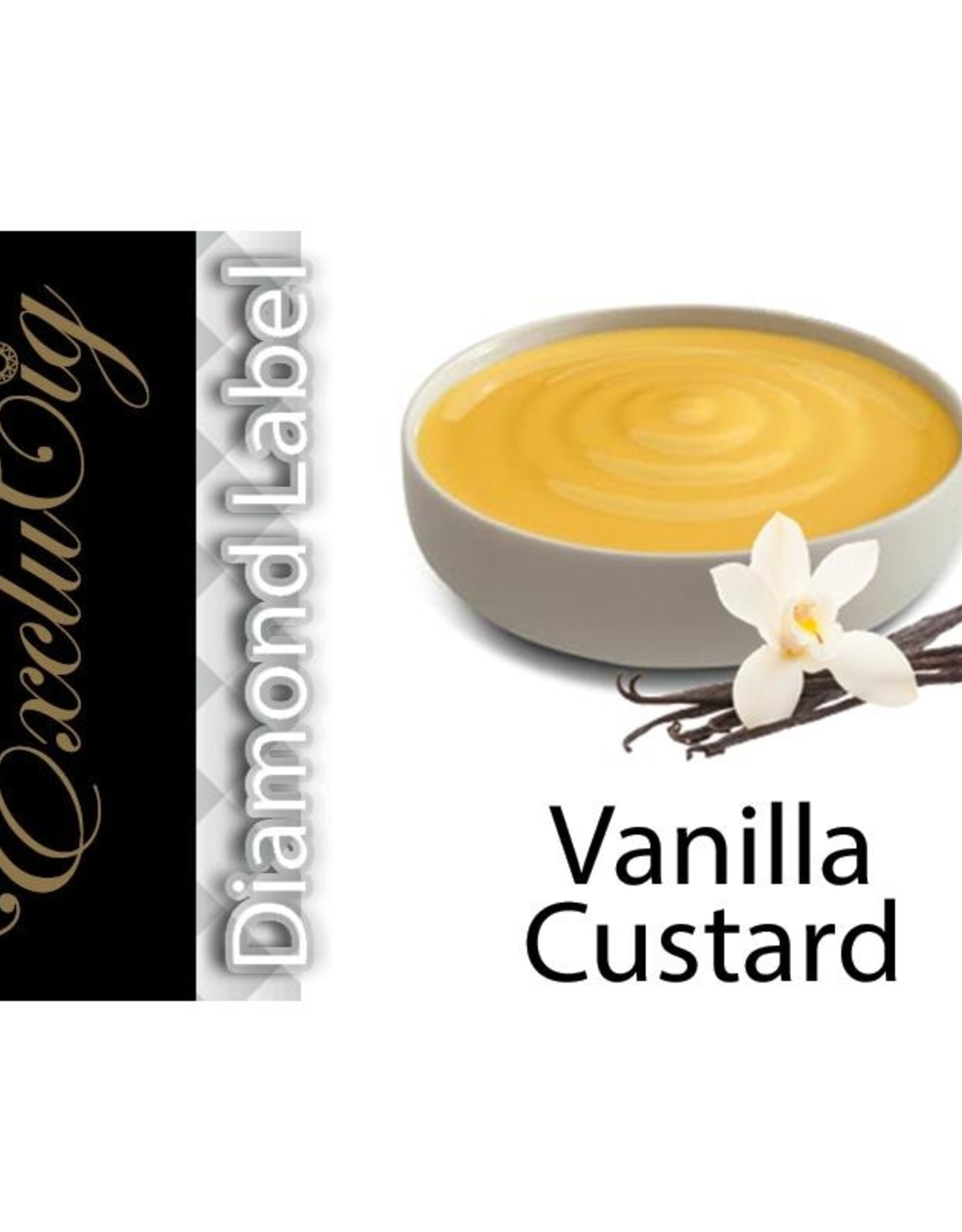 Exclucig Exclucig Diamond Label E-liquid Vanilla Custard 3 mg Nicotine