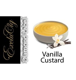 Exclucig Exclucig Diamond Label E-liquid Vanilla Custard 18 mg Nicotine