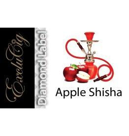 Exclucig Exclucig Diamond Label E-liquid Apple Shisha 0 mg Nicotine