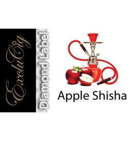 Exclucig Exclucig Diamond Label E-liquid Apple Shisha 18 mg Nicotine