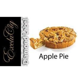 Exclucig Exclucig Diamond Label E-liquid Apple Pie 0 mg Nicotine
