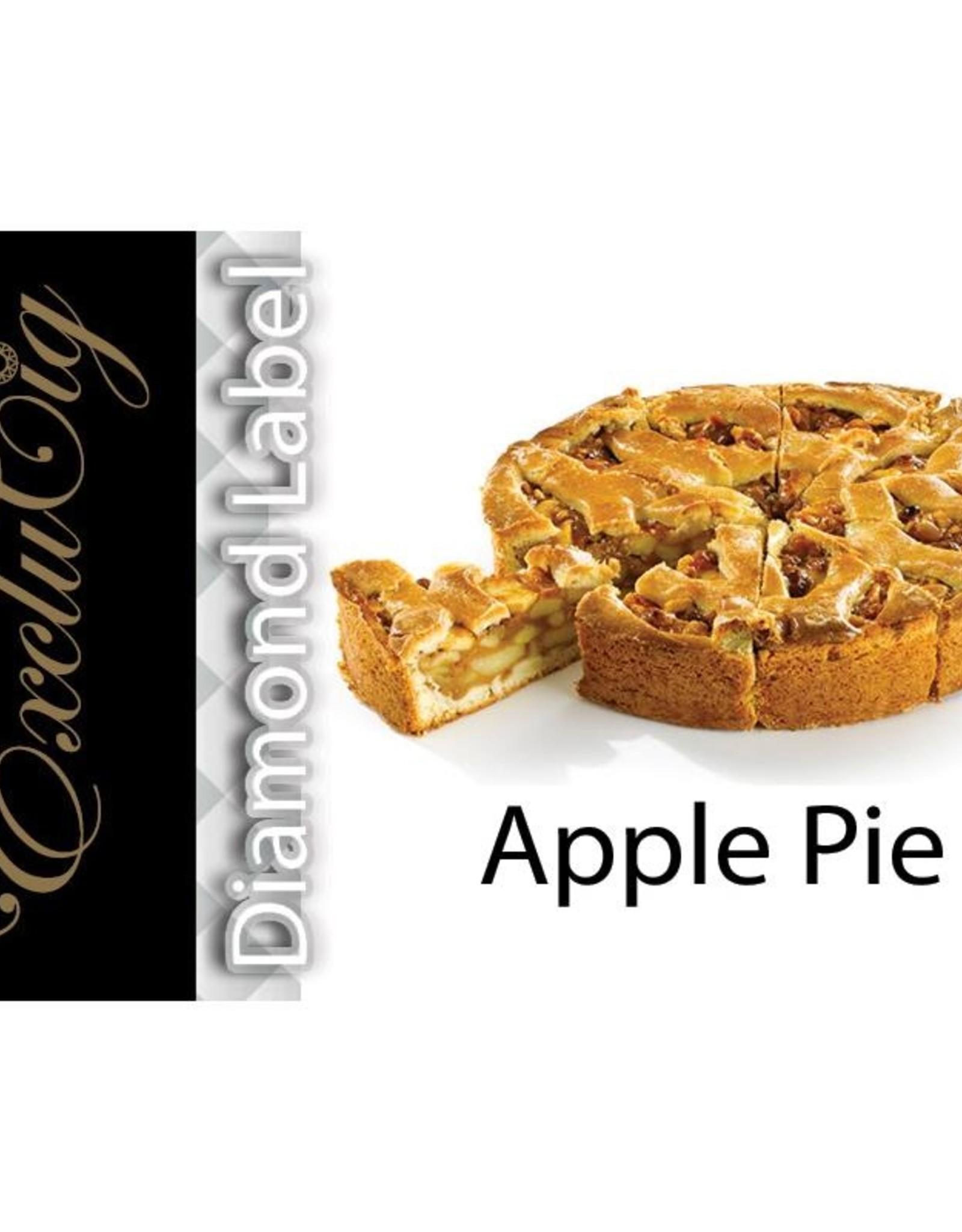Exclucig Exclucig Diamond Label E-liquid Apple Pie 3 mg Nicotine