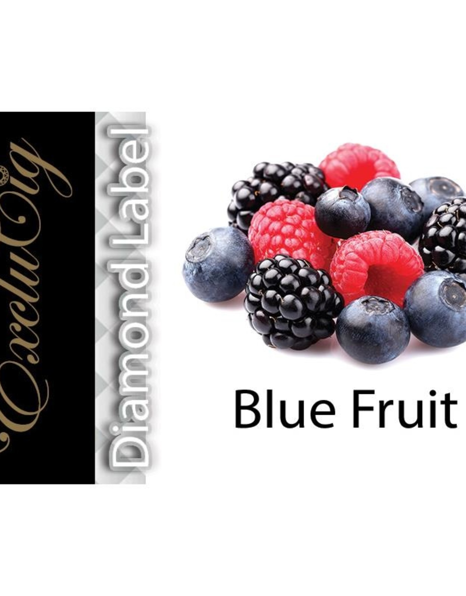 Exclucig Exclucig Diamond Label E-liquid Blue Fruit 0 mg Nicotine