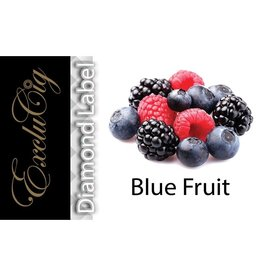 Exclucig Exclucig Diamond Label E-liquid Blue Fruit 0 mg Nicotine