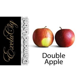 Exclucig Exclucig Diamond Label E-liquid Double Apple 0 mg Nicotine