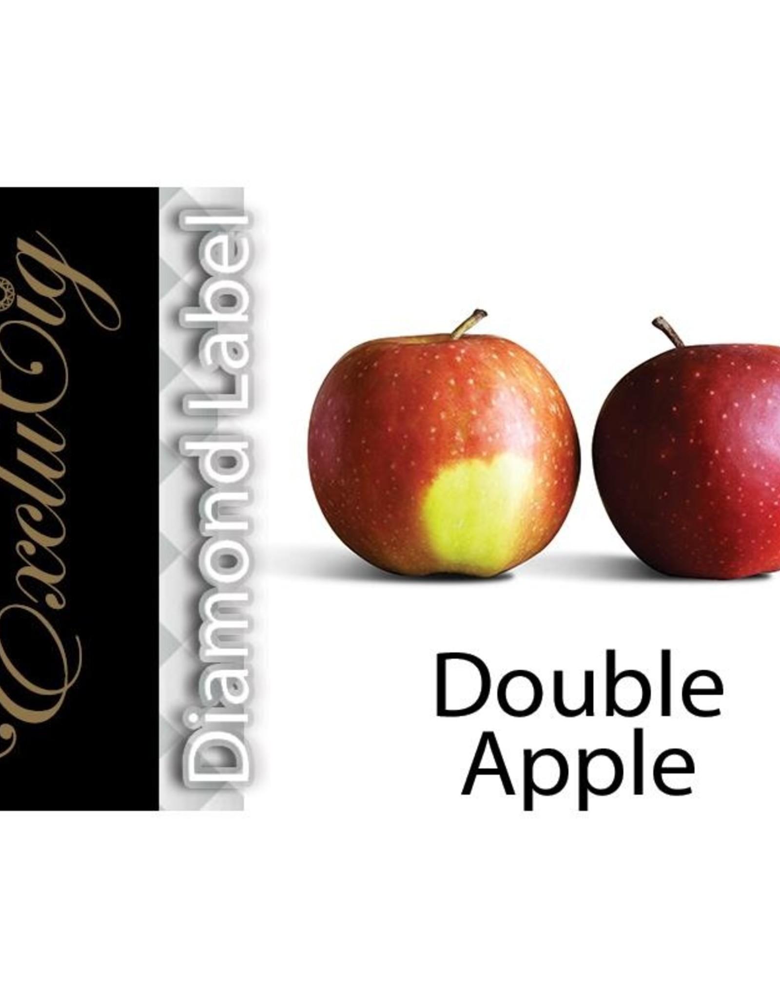 Exclucig Exclucig Diamond Label E-liquid Double Apple 18 mg Nicotine