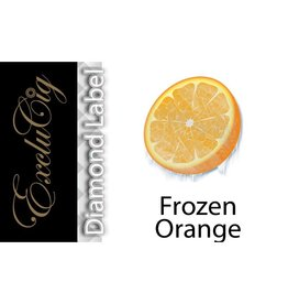 Exclucig Exclucig Diamond Label E-liquid Frozen Orange 12 mg Nicotine