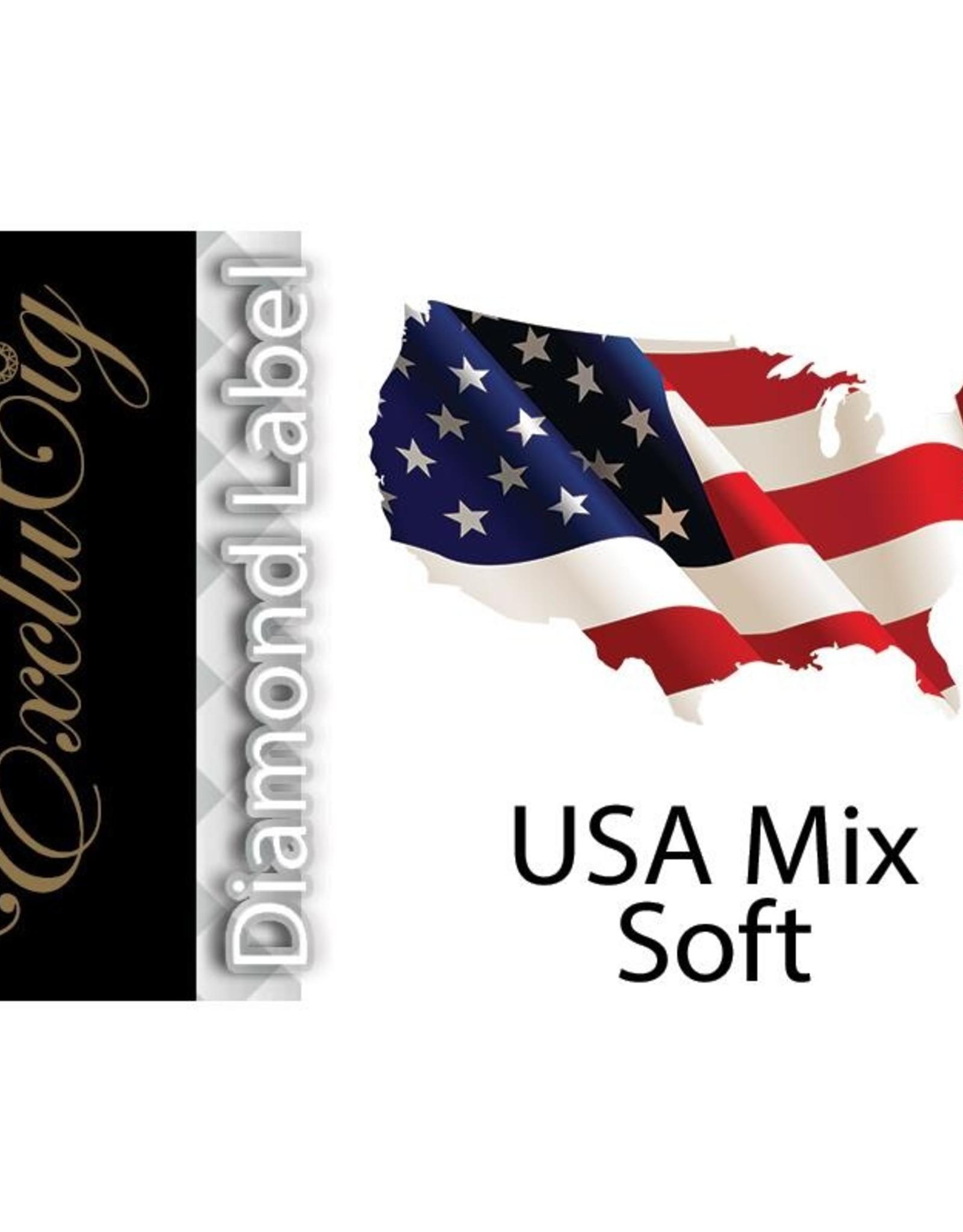 Exclucig Exclucig Diamond Label E-liquid USA Soft Mix 3 mg Nicotine