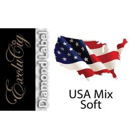 Exclucig Exclucig Diamond Label E-liquid USA Soft Mix 6 mg Nicotine