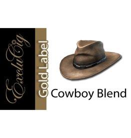Exclucig Exclucig Gold Label E-liquid Cowboy Blend 0 mg Nicotine