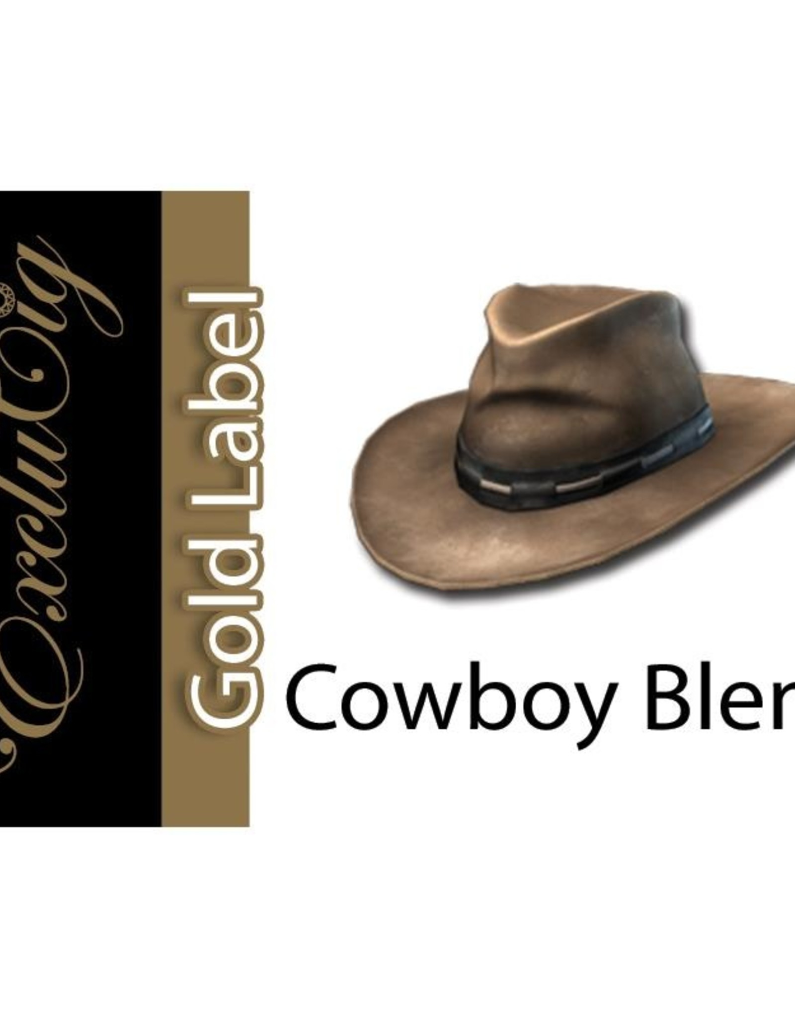 Exclucig Exclucig Gold Label E-liquid Cowboy Blend 18 mg Nicotine