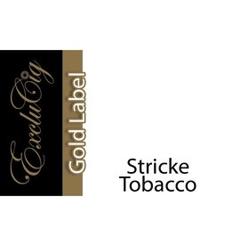 Exclucig Exclucig Gold Label E-liquid Stricke Tobacco 3 mg Nicotine