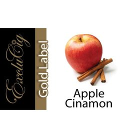 Exclucig Exclucig Gold Label E-liquid Apple Cinamon 3 mg Nicotine