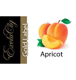 Exclucig Exclucig Gold Label E-liquid Apricot 0 mg Nicotine