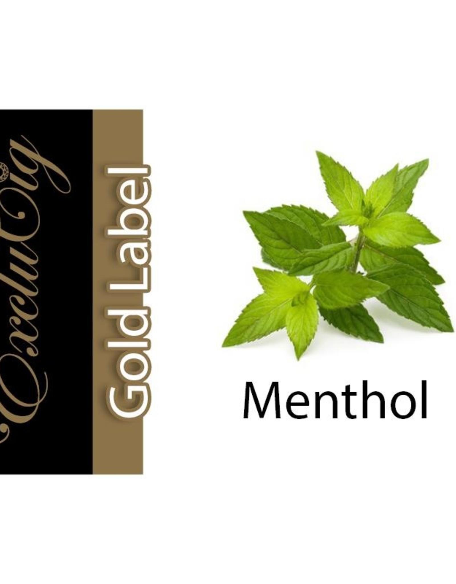 Exclucig Exclucig Gold Label E-liquid Menthol 0 mg Nicotine