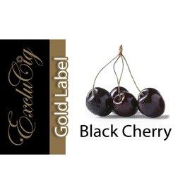 Exclucig Exclucig Gold Label E-liquid Black Cherry 0 mg Nicotine