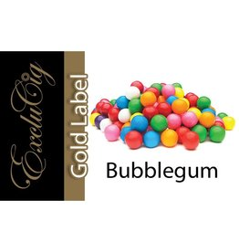 Exclucig Exclucig Gold Label E-liquid Bubblegum 6 mg Nicotine