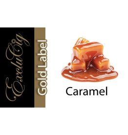Exclucig Exclucig Gold Label E-liquid Caramel 6 mg Nicotine