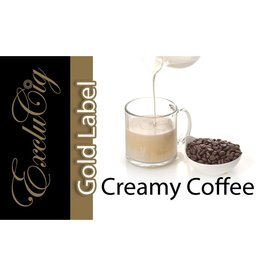 Exclucig Exclucig Gold Label E-liquid Creamy Coffee 0 mg Nicotine
