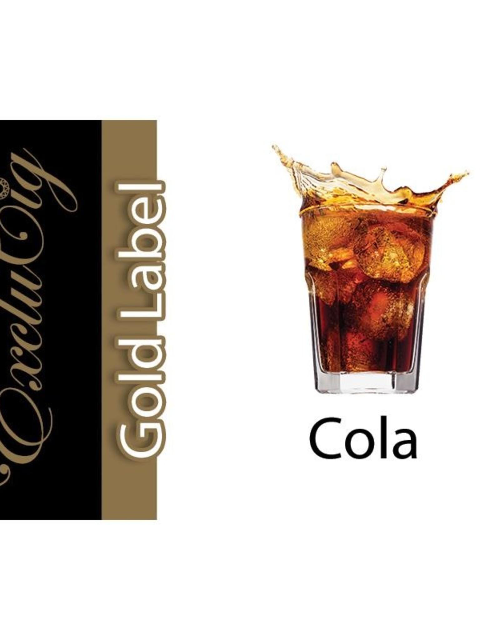 Exclucig Exclucig Gold Label E-liquid Cola 18 mg Nicotine