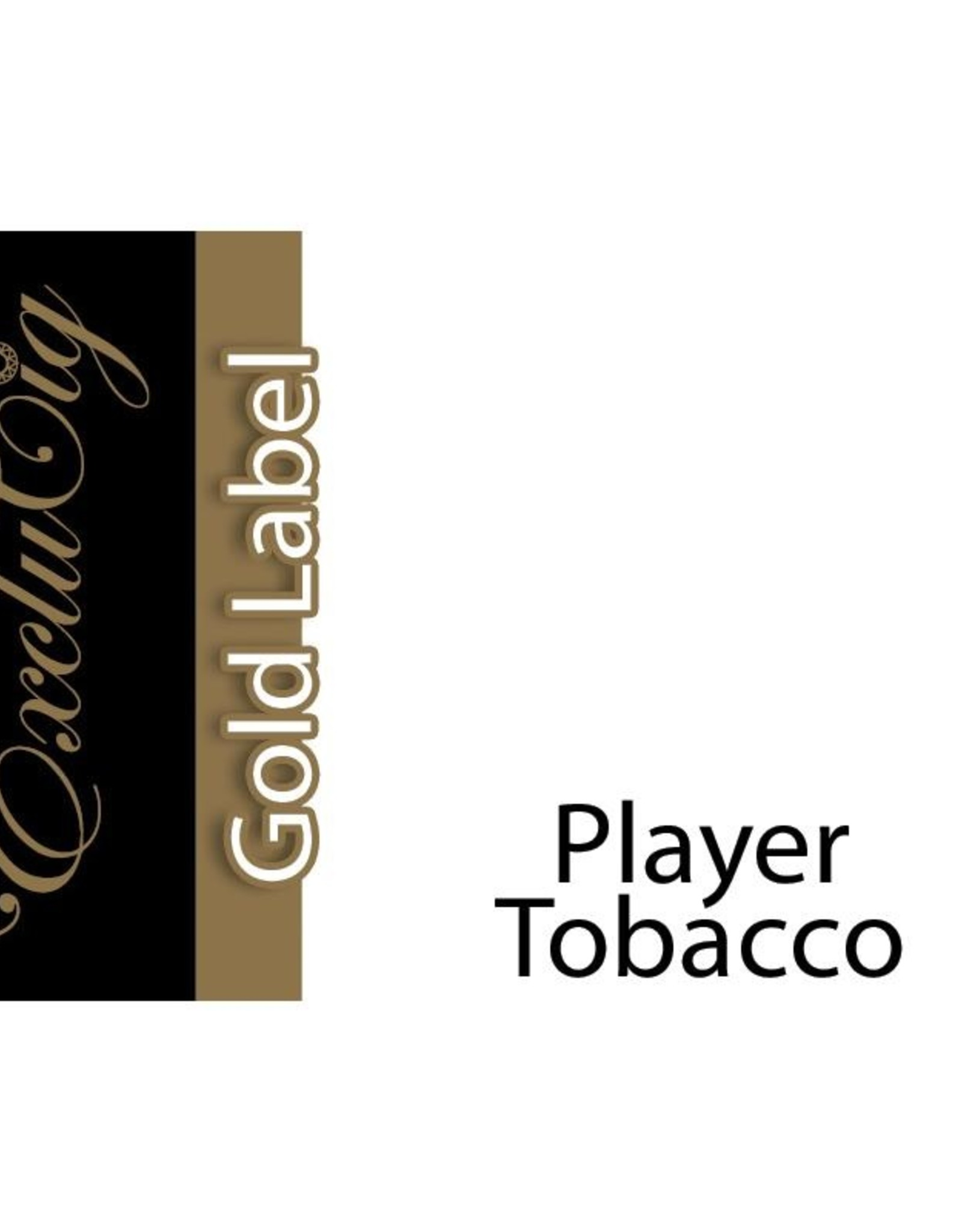 Exclucig Exclucig Gold Label E-liquid Player Tobacco 6 mg Nicotine