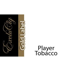 Exclucig Exclucig Gold Label E-liquid Player Tobacco 12 mg Nicotine