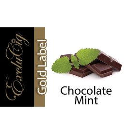 Exclucig Exclucig Gold Label E-liquid Chocolate MInt 6 mg Nicotine