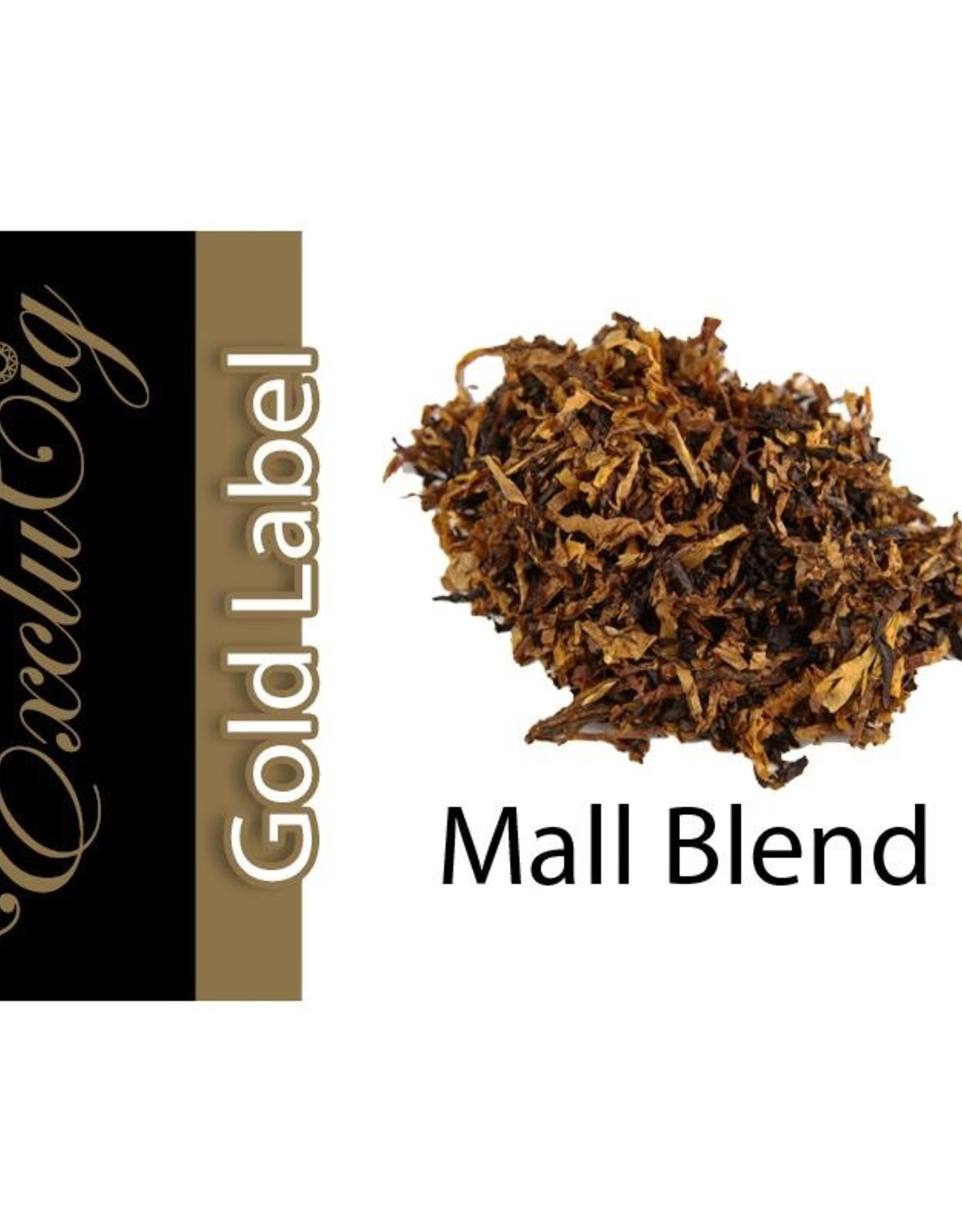 Exclucig Exclucig Gold Label E-liquid Mall Blend 6 mg Nicotine