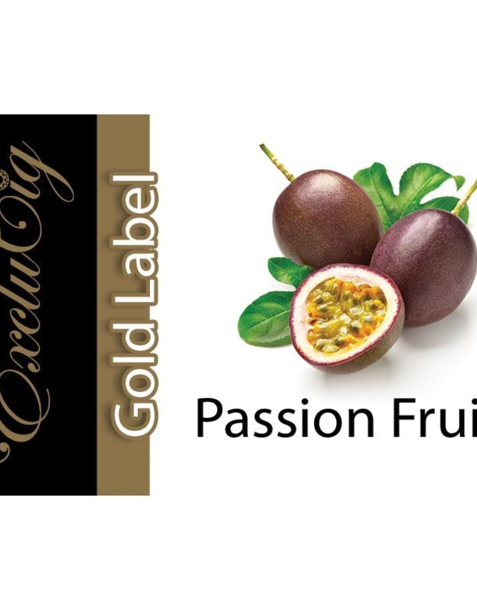 Exclucig Exclucig Gold Label E-liquid Passion Fruit 18 mg Nicotine