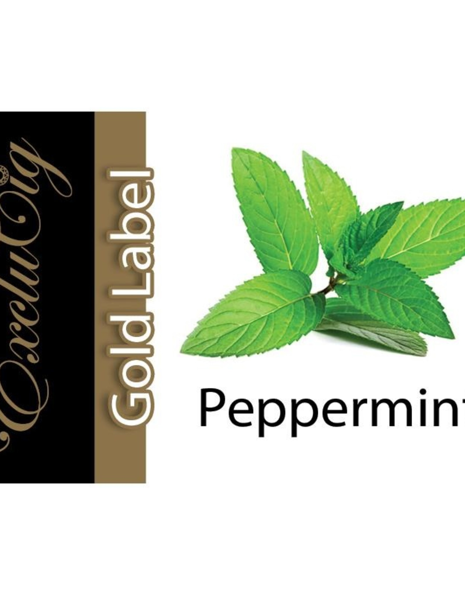 Exclucig Exclucig Gold Label E-liquid Peppermint 6 mg Nicotine