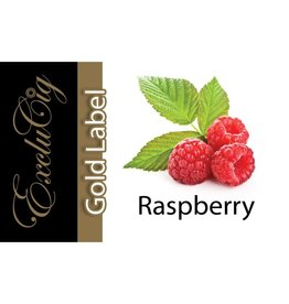 Exclucig Exclucig Gold Label E-liquid Raspberry 6 mg Nicotine