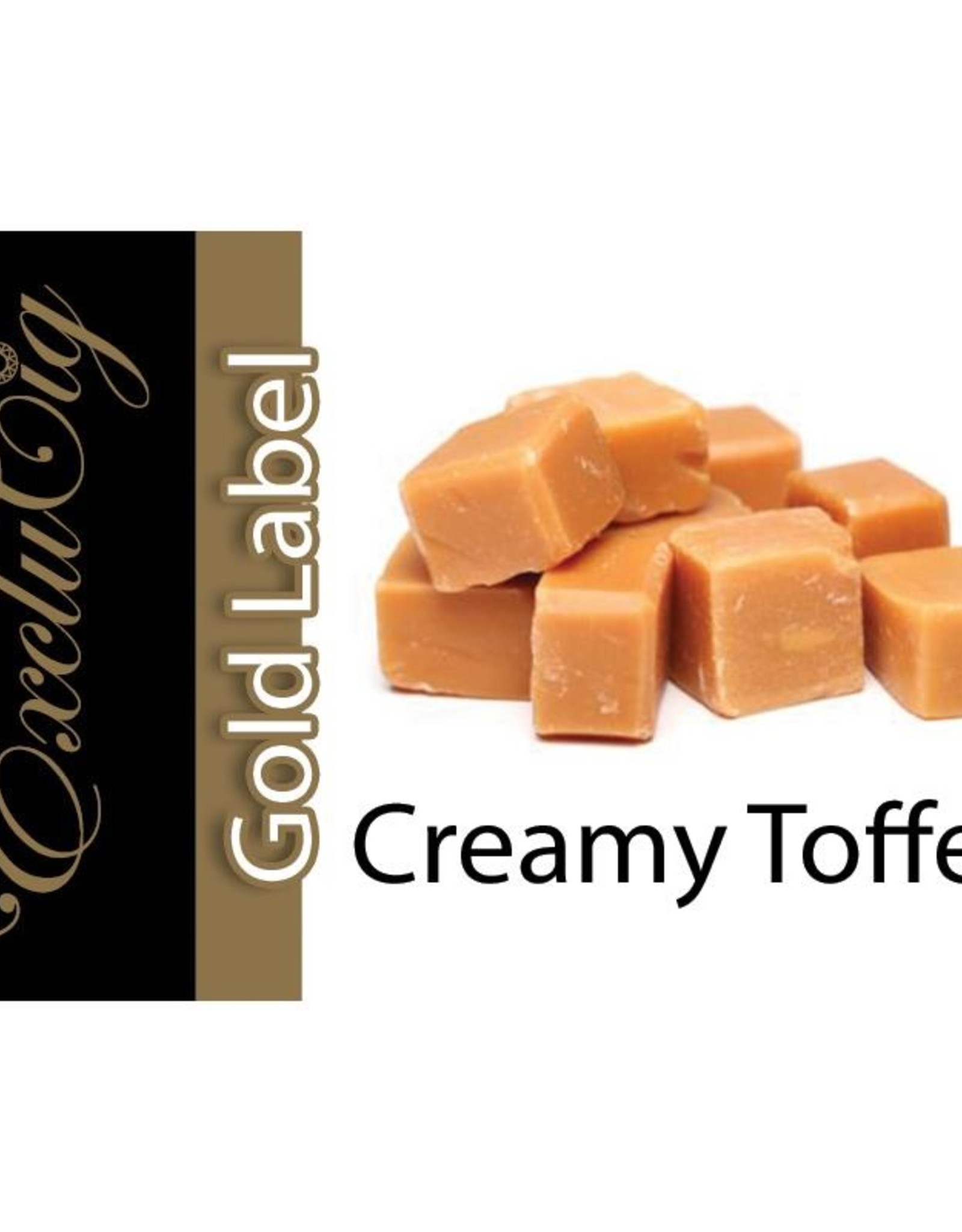 Exclucig Exclucig Gold Label E-liquid Creamy Toffee 3 mg Nicotine