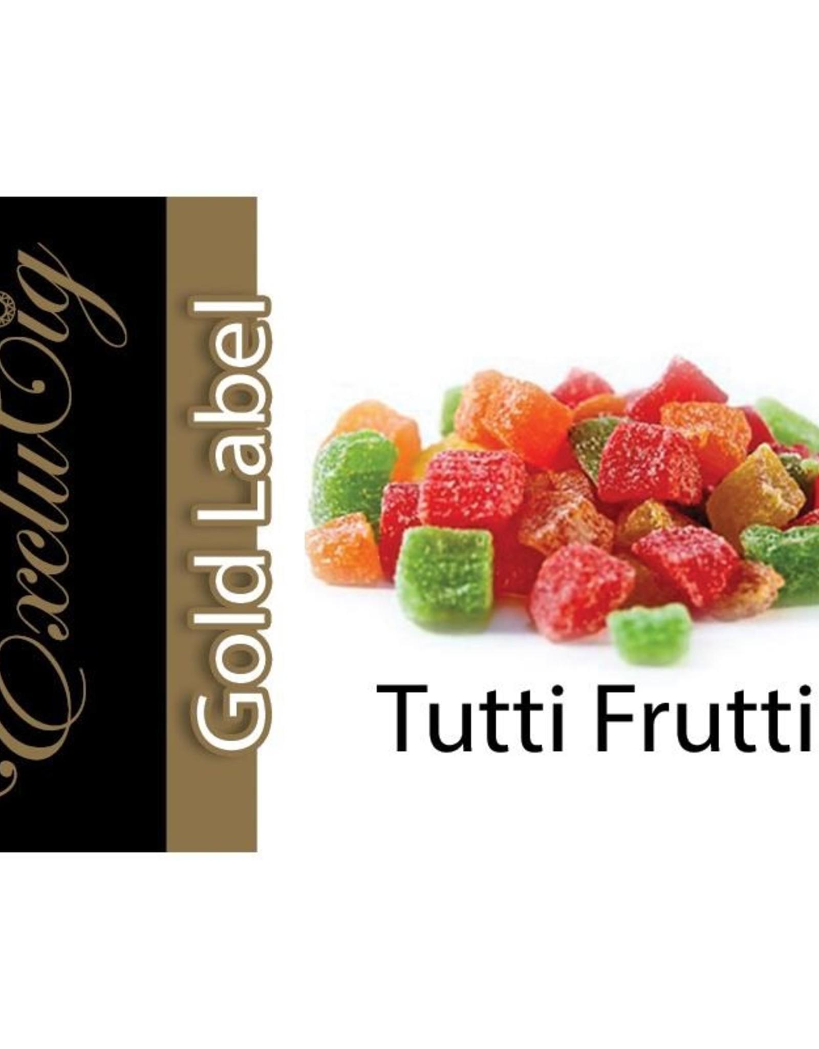 Exclucig Exclucig Gold Label E-liquid Tutti Frutti 18 mg Nicotine