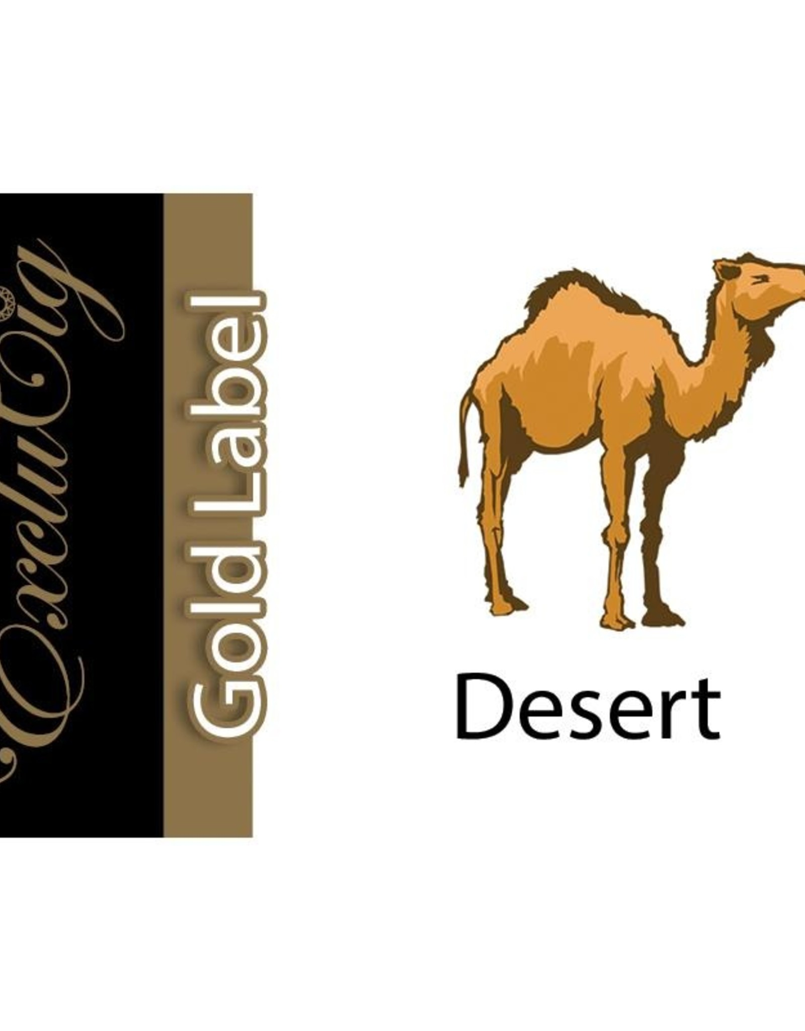 Exclucig Exclucig Gold Label E-liquid Desert 18 mg Nicotine